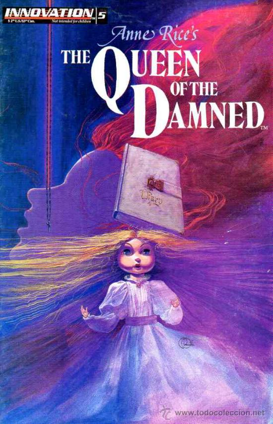 QUEEN OF THE DAMNED # 5 (INNOVATION,1992) - ANNE RICE - REINA DE LOS CONDENADOS (Tebeos y Comics - Comics Lengua Extranjera - Comics USA)