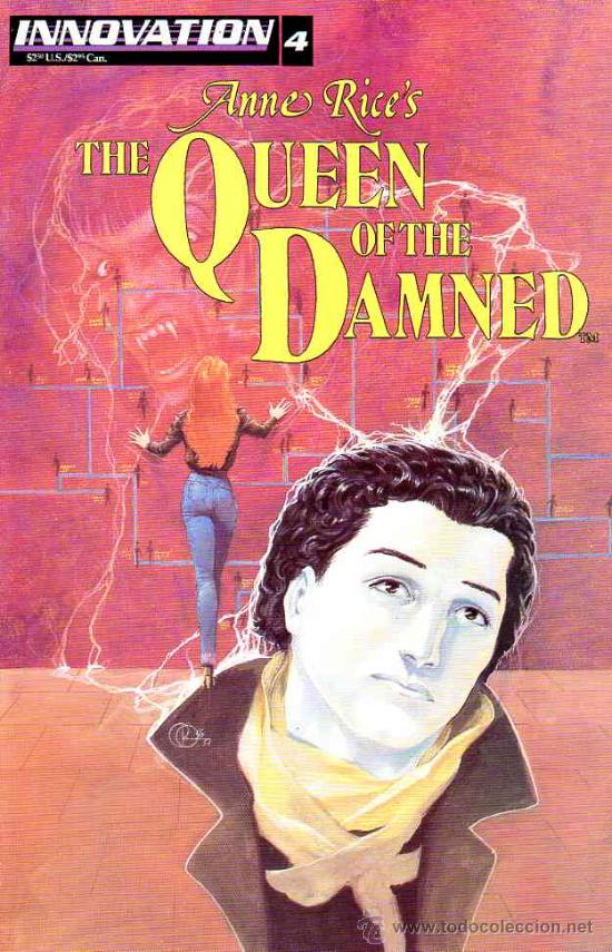 QUEEN OF THE DAMNED # 4 (INNOVATION,1992) - ANNE RICE - REINA DE LOS CONDENADOS (Tebeos y Comics - Comics Lengua Extranjera - Comics USA)