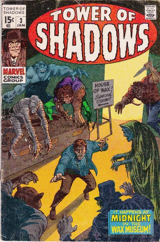TOWER OF SHADOWS #3 JANUARY ,1969 (Tebeos y Comics - Comics Lengua Extranjera - Comics USA)