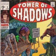 Cómics: TOWER OF SHADOWS #3 JANUARY ,1969. Lote 36918763
