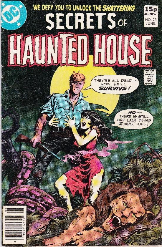 SECRETS OF HAUNTED HOUSE #25 JUNE 1980 (Tebeos y Comics - Comics Lengua Extranjera - Comics USA)