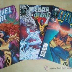 Cómics: X-MEN - 3 ESPECIALES 2011 INEDITOS EN ESPAÑA (CYCLOPS-MARVEL GIRL-ICEMAN & ANGEL). Lote 37014297