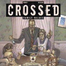 Cómics: COMPLETA - CROSSED: FAMILY VALUES # 1 AL 7 (AVATAR,2010) - DAVID LAPHAM. Lote 37135370