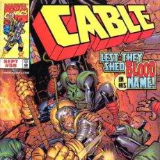 Cómics: CABLE VOL.1 # 58 (MARVEL,1998) - JOE CASEY - ED MCGUINNESS - LADRONN. Lote 37150500