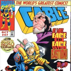 Cómics: CABLE VOL.1 # 47 (MARVEL,1997) - JAMES ROBINSON - ZERO TOLERANCE. Lote 37150729