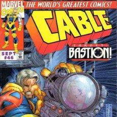 Cómics: CABLE VOL.1 # 46 (MARVEL,1997) - JAMES ROBINSON. Lote 37150766