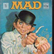 Cómics: MAD Nº 137 REVISTA DE HUMOR EN INGLES AÑOS 70. Lote 37609262