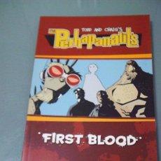 Cómics: THE PERHAPANAUTS. FIRST BLOOD. EN INGLÉS.. Lote 37663965