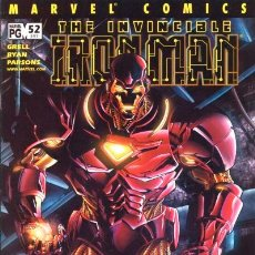 Cómics: IRON MAN #52, MARVEL, 2.002, USA.. Lote 38029600