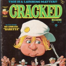 Cómics: CRACKED MAZAGINE Nº 132 , AÑO 1976 ( EDICION EN INGLES ). Lote 38090380