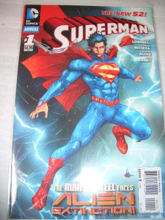 SUPERMAN ANNUAL #1 (DC COMICS, 2012) (Tebeos y Comics - Comics Lengua Extranjera - Comics USA)