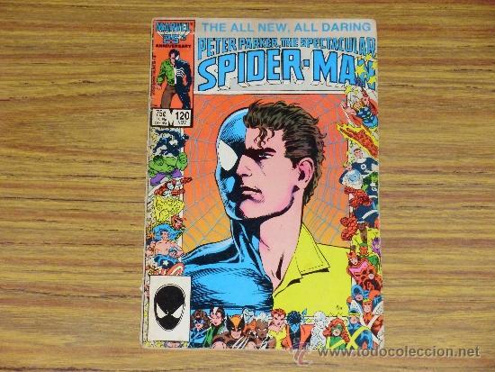 PETER PARKER, THE SPECTACULAR SPIDERMAN, VOL. 1, NO. 120, NOVEMBER, 1986. (ISSN 0273-6632) (Tebeos y Comics - Comics Lengua Extranjera - Comics USA)