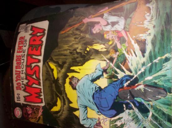 THE HOUSE OF MYSTERY Nº 185 (Tebeos y Comics - Comics Lengua Extranjera - Comics USA)