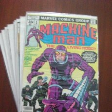 Cómics: MACHINE MAN JACK KIRBY MARVEL. Lote 38791046