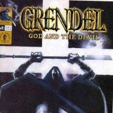 Cómics: COMPLETA - GRENDEL: GOD AND THE DEVIL # 0 AL 10 (DARK HORSE,2003) - MATT WAGNER - TIM SALE - SNYDER. Lote 38804799