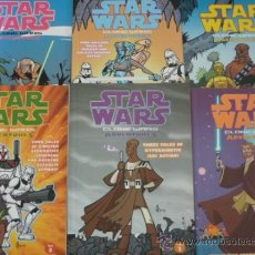 Cómics: STAR WARS. CLONE WARS ADVENTURES. VOL.1 TO VOL. 6. DARK HORSE BOOKS.. Lote 38835066