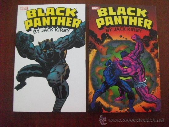 BLACK PANTHER JACK KIRBY MARVEL (Tebeos y Comics - Comics Lengua Extranjera - Comics USA)