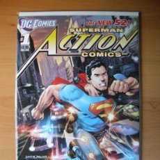 Cómics: ACTION COMICS #1, SUPERMAN, NEW 52 (PRIMER NÚMERO, PRIMERA EDICIÓN, NUEVO UNIVERSO, 2011). Lote 53907119