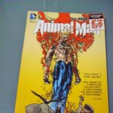 Cómics: ANIMAL MAN VOL. 1: THE HUNT. EN INGLÉS.. Lote 39178347