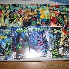 Cómics: GREEN LANTERN #0-14, ANNUAL #1 (DC COMICS, 2011-2012). Lote 39262522
