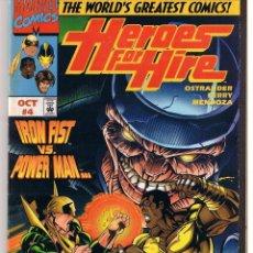 Cómics: HEROES FOR HIRE. NUMERO 4. EDICION AMERICANA ORIGINAL. MARVEL. Lote 39906167