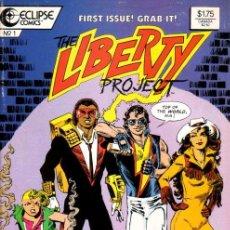 Cómics: COMPLETA - THE LIBERTY PROJECT # 1 AL 8 (ECLIPSE COMICS,1987) - KURT BUSIEK. Lote 40047719
