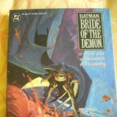 Cómics: BATMAN: BRIDE OF THE DEMON, HARDCOVER. Lote 40200362