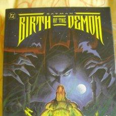 Cómics: BATMAN: BIRTH OF THE DEMON, HARDCOVER, 1992. Lote 40200434
