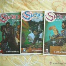 Cómics: SLAINE: THE HORNED GOD COMPLETA 3 ALBUMS, PAT MILLS - SIMON BISLEY. Lote 40276095