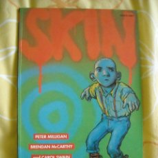 Cómics: SKIN: A GRAPHIC NOVEL FOR ADULTS - PETER MILLIGAN AND BRENDAN MCCARTHY, THUNDRA PUBLISHING 1992. Lote 40294572