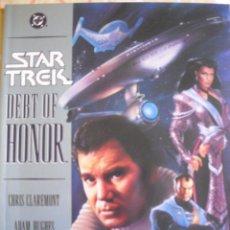 Comics - STAR TREK. DEBT OF HONOR - CHRIS CLAREMONT / ADAM HUGHES. DC COMICS, 1992 - 40294841