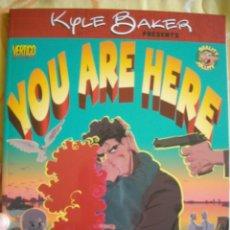 Cómics: YOU ARE HERE POR KYLE BAKER - VERTIGO COMICS, DC COMICS, 1999. Lote 40294961