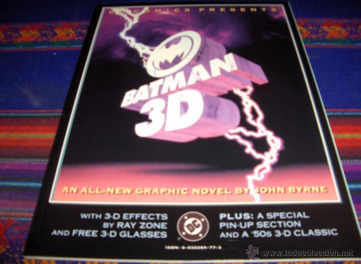 BATMAN 3D DC COMICS 1990. NUEVO CON SUS GAFAS ENCARTADAS. MUY DIFÍCIL EN INGLÉS!!! (Tebeos y Comics - Comics Lengua Extranjera - Comics USA)