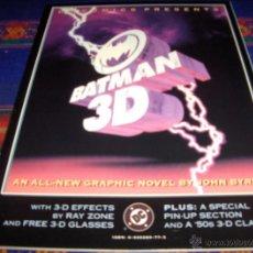 Cómics: BATMAN 3D DC COMICS 1990. NUEVO CON SUS GAFAS ENCARTADAS. MUY DIFÍCIL EN INGLÉS!!!. Lote 40609810