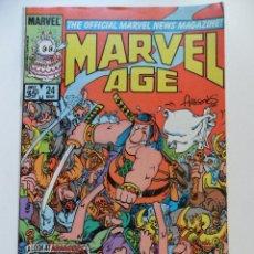 Cómics: MARVEL AGE # 24. Lote 40623184