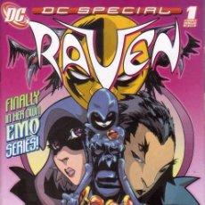 Cómics: DC SPECIAL: RAVEN VOL.1 # 1 (DC,2008) - TEEN TITANS. Lote 40682153