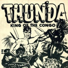 Cómics: THUNDA. KING OF THE CONGO. AUTOR: FRAZETTTA. EDICIÓN 1973. Lote 40759657