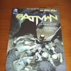 Cómics: BATMAN TPB (2013 DC COMICS THE NEW 52) #1 - SCOTT SNYDER - GREG CAPULLO. Lote 40007434