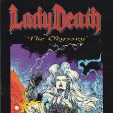 Cómics: LADY DEATH. THE ODYSSEY TOMO DE 100 PAGINAS. EN INGLES. Lote 40837678