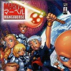 Cómics: MARVEL MANGAVERSE, SERIE LIMITADA DE 6 NÚMEROS COMPLETA, MARVEL, 2.002. USA. Lote 40841993