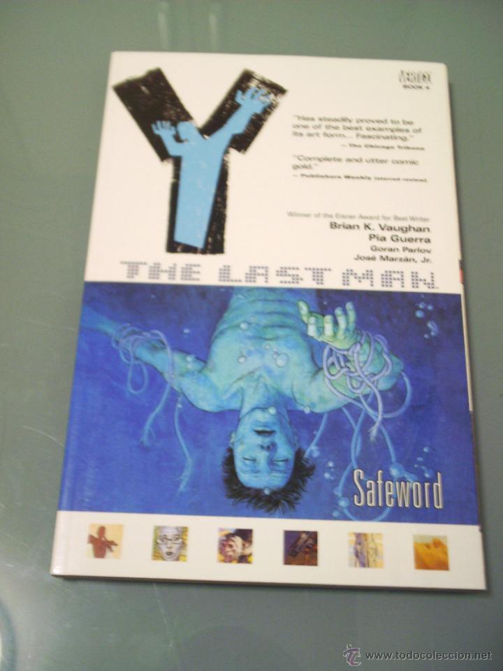 Y: THE LAST MAN, VOL. 4: SAFEWORD. EN INGLÉS. (Tebeos y Comics - Comics Lengua Extranjera - Comics USA)