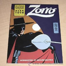 Cómics: ZORRO. THE COMPLETE CLASSIC ADVENTURES. VOLUME ONE. ALEX TOTH. INGLES.. Lote 41003896