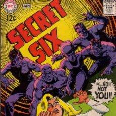 Cómics: SECRET SIX VOL.1 # 5 (DC,1969) - VG - JACK SPARLING. Lote 41055818