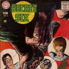 Cómics: SECRET SIX VOL.1 # 3 (DC,1969) - VG - JACK SPARLING. Lote 41055828