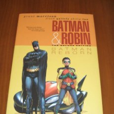 Cómics: BATMAN AND ROBIN HC (2010 DELUXE EDITION) #1 - GRANT MORRISON - FRANK QUITELY. Lote 41355737