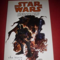 Cómics: DARK HORSE COMICS- STAR WARS - UNDERWORLD -THE YAVIN VASSILIKA. Lote 41555849