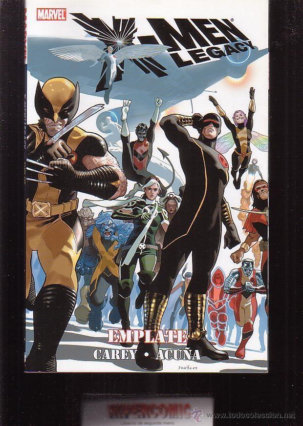 Cómics: X MEN LEGACY , LOTE 4 TOMOS ( EDICION EN INGLES ) - Foto 3 - 41603259