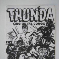 Cómics: THUN´DA, KING OF THE CONGO - FRANK FRAZETTA (SUSSEX PUBLISHING CO. 1973). Lote 42438057