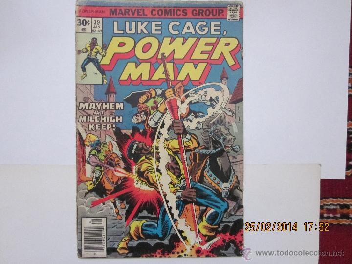 LUKE CAGE, POWER-MAN, Nº.39 - MARVEL - 1977 (Tebeos y Comics - Comics Lengua Extranjera - Comics USA)