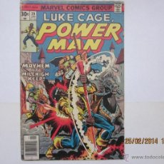 Cómics: LUKE CAGE, POWER-MAN, Nº.39 - MARVEL - 1977. Lote 42544418
